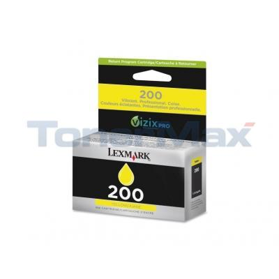 LEXMARK NO 200 RP INK CARTRIDGE YELLOW
